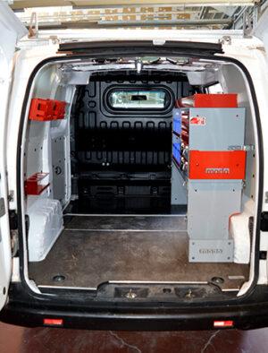 Allestimento personalizzato Nissan NV200