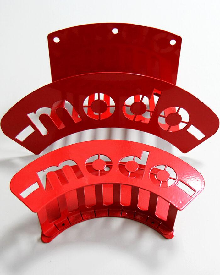 accessori rossi per furgone