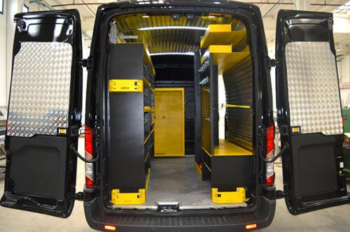 Allestimento personalizzato Ford Transit