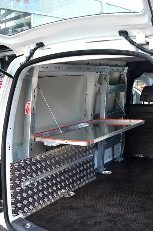 Allestimento personalizzato di Volkswagen Caddy