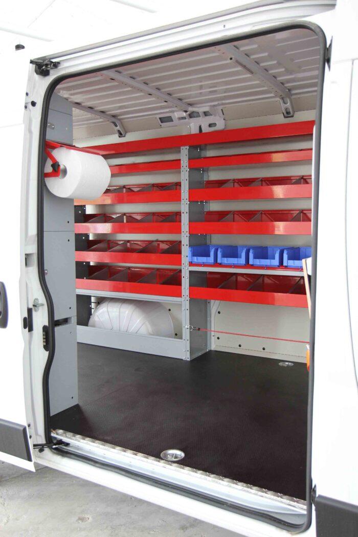 scaffalature per furgoni